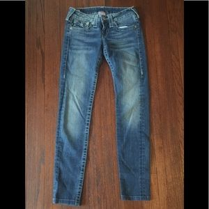 True Religion Julie Skinny Jeans 26/30